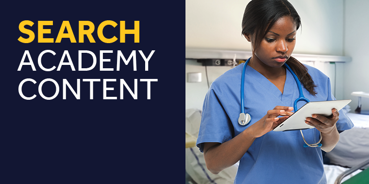 Search Medtronic Academy Banner